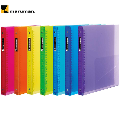 Maruman Binder Sept Couler B5 Plastic Binder F300