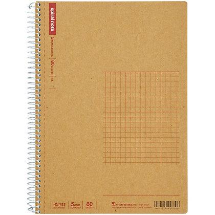 Maruman A5 Spiral Note Basic N247ES