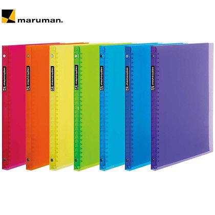 Maruman Binder Septcouleur B5 Plastic Binder F007