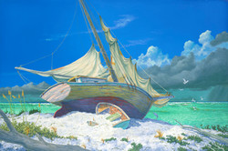 Blown Ashore