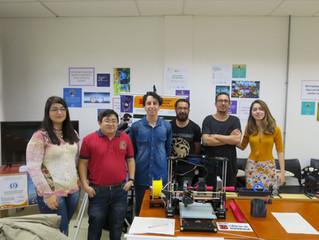 Participação do Ciência 3D Impressa na 14ª Feira de Inovação Tecnológica (FITec)