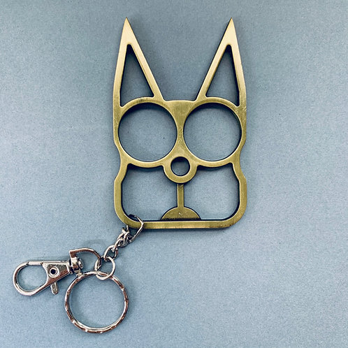 Self Defense Kitty Cat Keychain