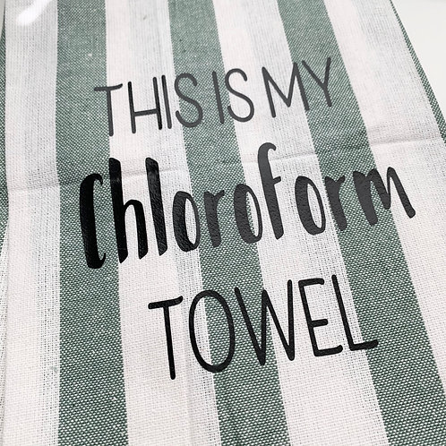 Chloroform Dish Towel