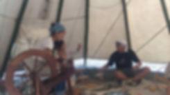 EVHAオーガニックキャンプ川根のワークショップの様子
