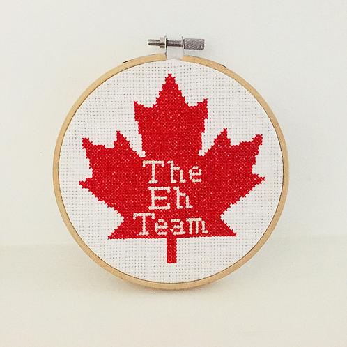 The Eh Team Cross Stitch Kit