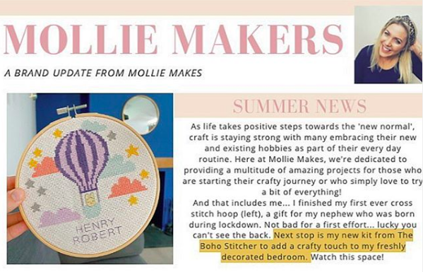 Mollie Makers Newsletter
