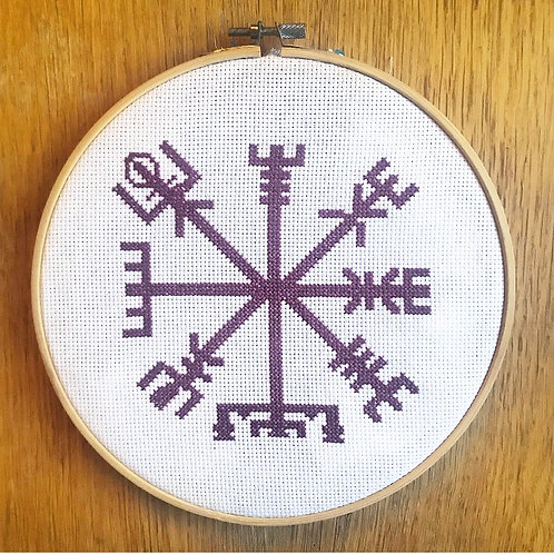 Vigvisir Cross Stitch Kit
