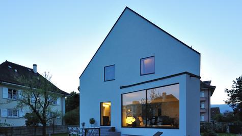 Transformation d'une villa individuelle