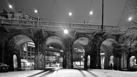 Rue Centrale et Grand Pont