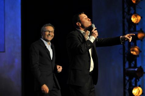 Laurent Ruquier & Yann Lambiel