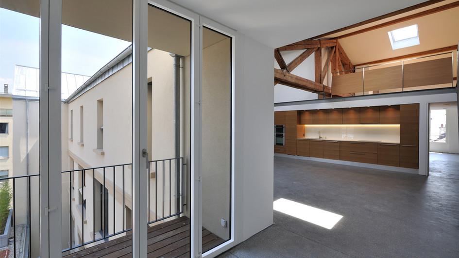 Transformation d'anciens locaux industriels en lofts