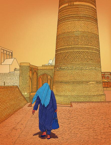 Bukhara Sunset