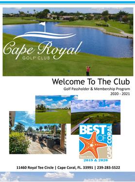 Golf Passholder and Membership Program 2