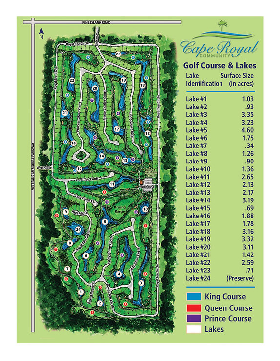 SWM_Cape Royal Lakes_Golf_Course Map_sm.