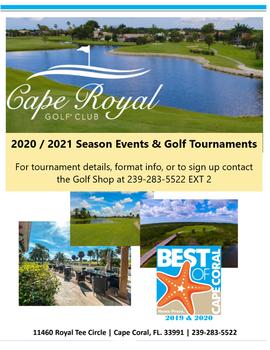 2020_2021 Season Events & Golf Tournamen
