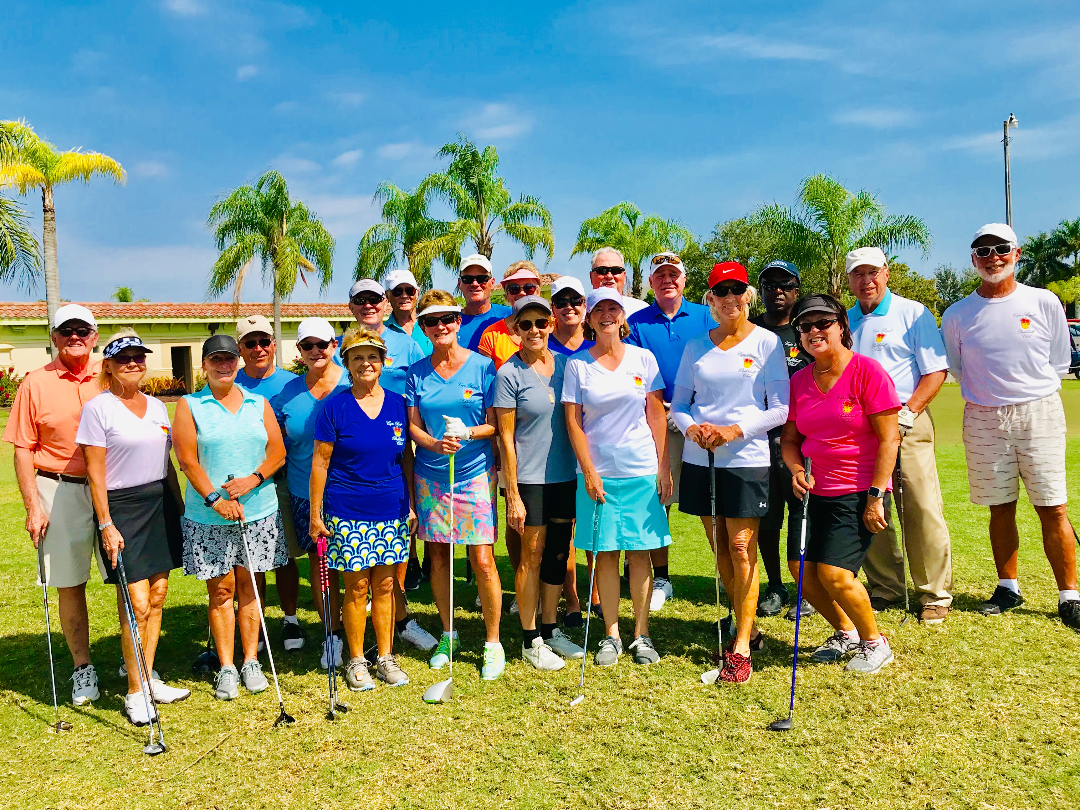 Pickleball golf outing.2019