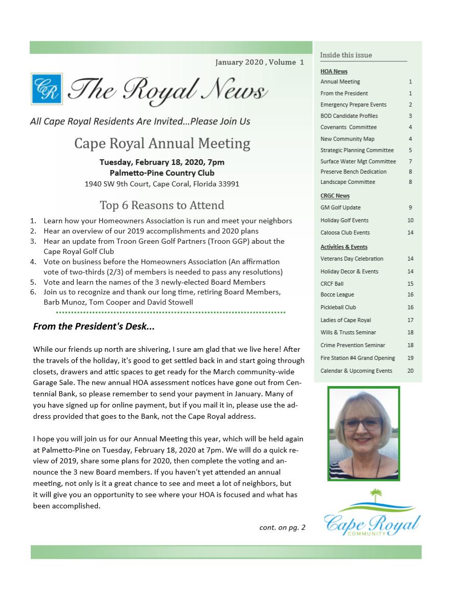CR-Newsletter_Vol1_Jan_2020