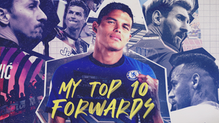 Thiago Silva's Top 10 Forwards