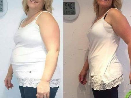Iris før og etter 28 dagersdietten