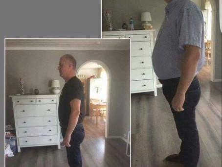 Mange menn tar dietten !