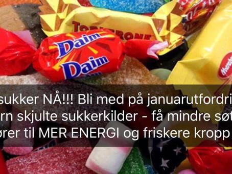 Sukkerfri start på det nye året !