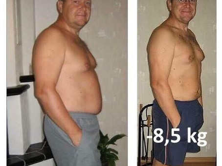 Mange menn tar dietten