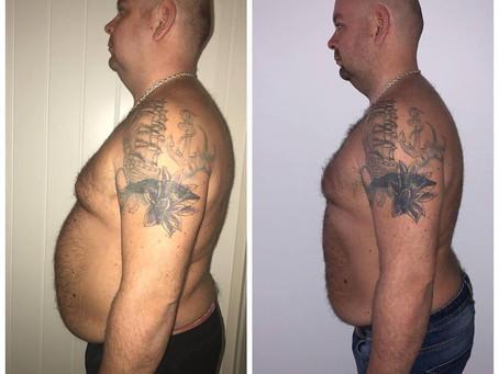 Livet før og etter 28 dagersdietten