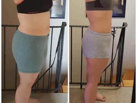 Før og etter 28 dagersdietten