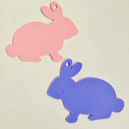Easter Bunny Treat Box Tag