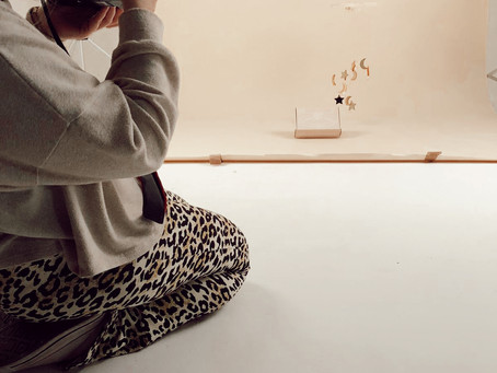 Behind The Scenes: Curate Box Launch Shoot