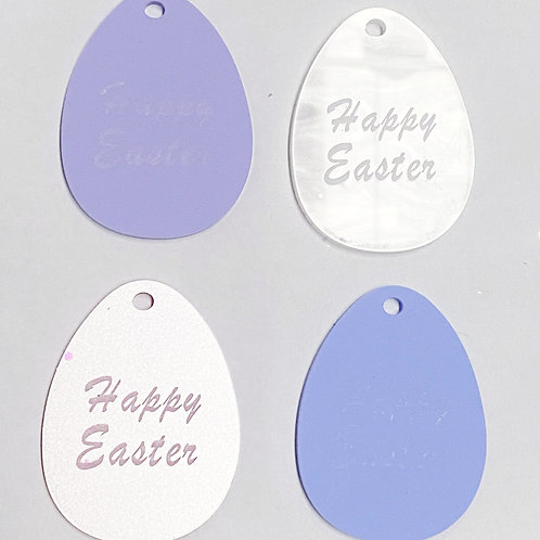 Easter Egg Treat Box Tags