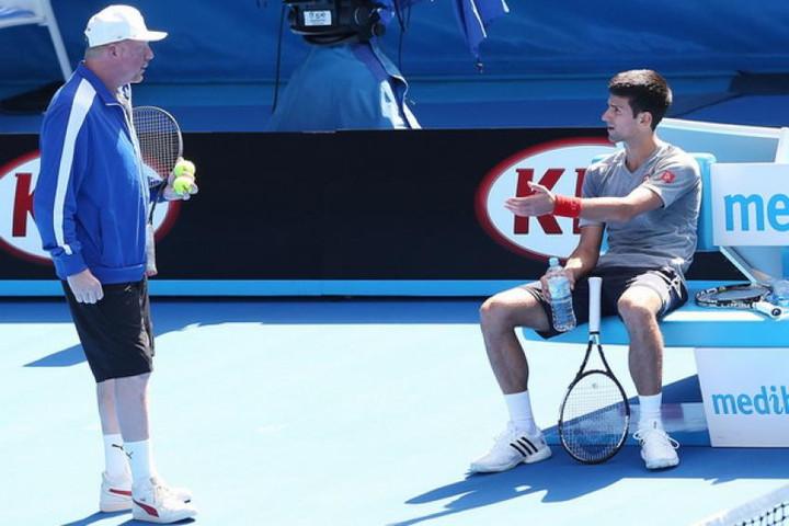 """Novak Djokovic is more upset than Roger Federer and Rafael Nadal"" says Becker"