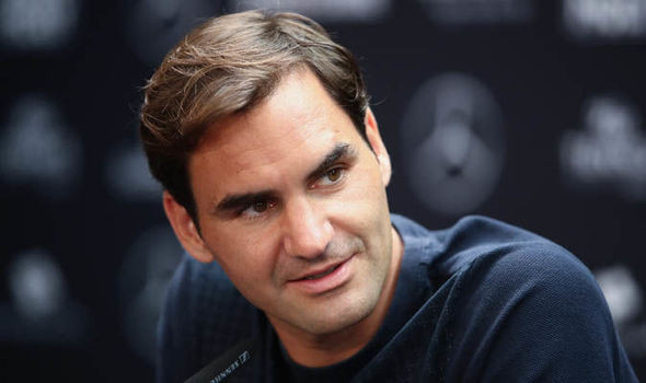Federer is back in action at the Mercedes Cup in Stuttgart this week