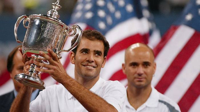 Pete Sampras his career Reno Manne and his relationship with Agassi