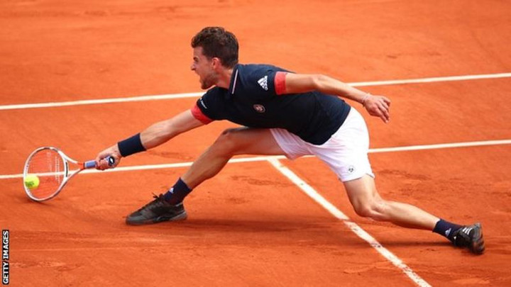 French Open 2018: Dominic Thiem beats Marco Cecchinato to make final
