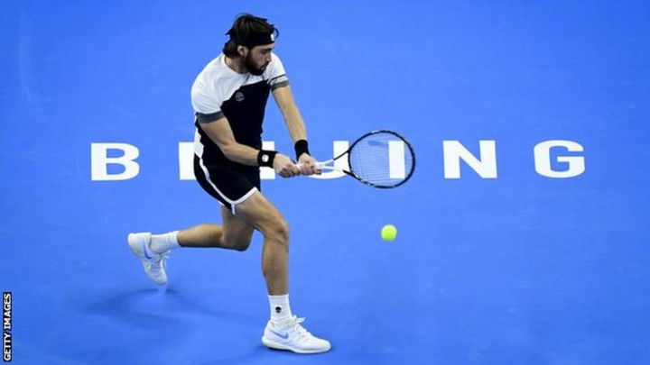 Georgia's Nikoloz Basilashvili downs Argentina's Juan Martin del Potro in China Open final