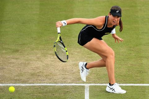 Eastbourne 2018: Johanna Konta sets up Caroline Wozniacki match