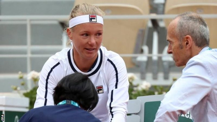 French Open 2019: Kiki Bertens pulls out due to illness during second round match