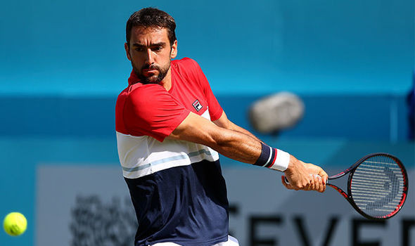 Marin Cilic reacts to Gilles Muller comeback at Queen's to book quarter-final spot