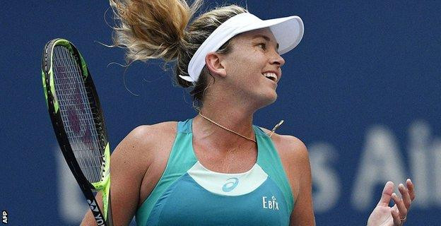 Coco Vandeweghe had never gone beyond the second round in eight previous US Open appearances
