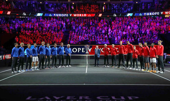 Laver Cup 2018: Why are the courts black? What is the surface? Roger Federer affecte
