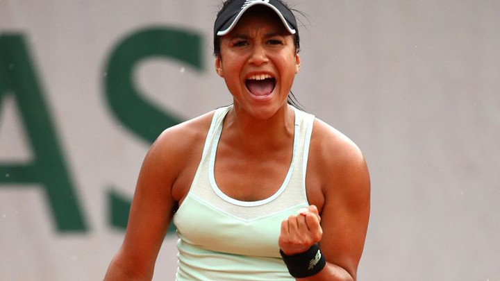 Heather Watson through to French Open second round