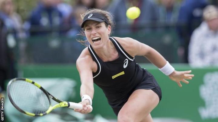 Johanna Konta into Morocco Open final with straight-set defeat of Ajla Tomljanovic
