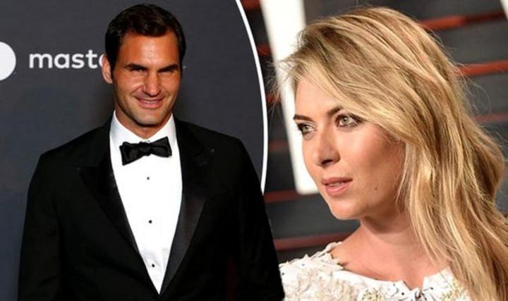 When Roger Federer made a funny joke to Maria Sharapova