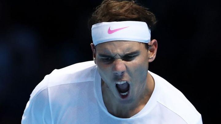 Rafael Nadal digs deep to beat Stefanos Tsitsipas at ATP Finals