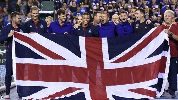 Davis Cup: Great Britain beat Uzbekistan as Cameron Norrie wins in singles