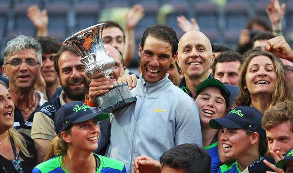 Italian Open: Rafael Nadal wins Rome