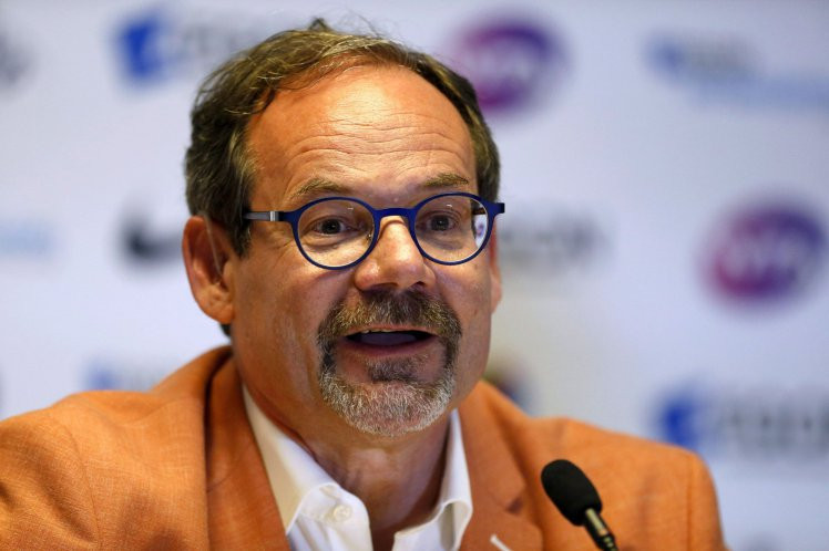 Michael Downey began his second stint as CEO of Tennis Canada last month.  (JAN KRUGER / GETTY IMAGES)