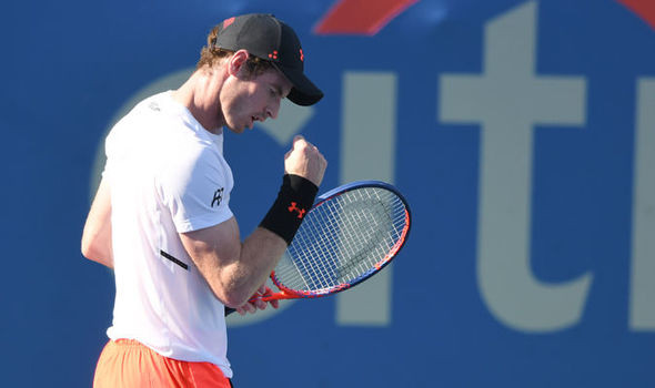 Andy Murray beats Kyle Edmund in decider to reach last 16 of Citi Open