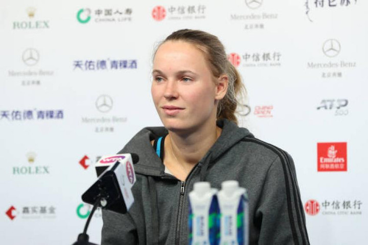 Caroline Wozniacki speaks about drug tests in tennis